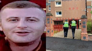 Terry Smith: His family have been left devastated. Motherwell Doonside Tower