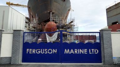 Contract: Ferguson Marine shipyard.
