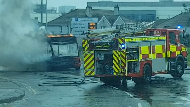 Silverburn: Around ten firefighters were called.