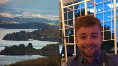 Kieran Cowan: Divers have been called in the search. East Lothian Loch Awe Missing