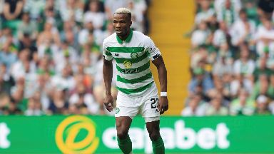 Boli Bolingoli: The defender was injured in the crash. Celtic