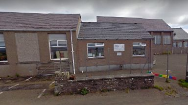 Health fears: Stronsay Junior High in Orkney