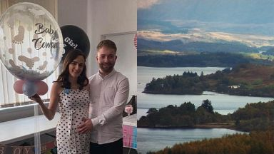 Kieran Cowan: The 23-year-old was due to be a dad. Loch Awe Argyll and Bute