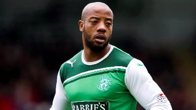Junior Agogo: The former Hibs striker has died.