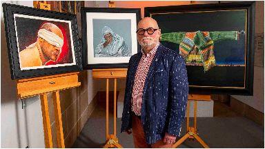 Artist Robert McNeil MBE