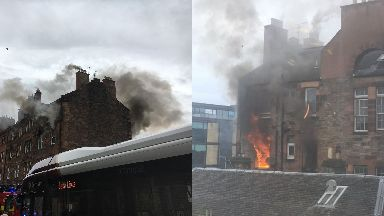 Fountainbridge fire