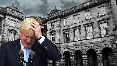 Boris Johnson Court of Session collage