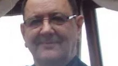 John McGuire: The 56-year-old died in the post office. Cardonald Post Office Glasgow