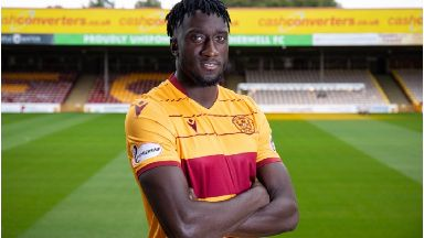 Bevis Mugabi: 24 year-old joins Motherwell on a short-term deal until January