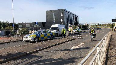 Police chase Govan
