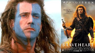 Braveheart: Mel Gibson's sword has sold for £60,000.