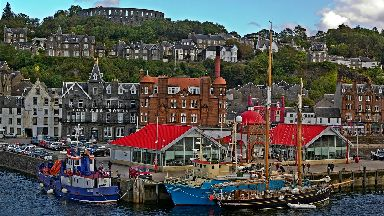 Oban Harbour Argyll and Bute
