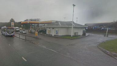 Shell petrol station, Aberdeen