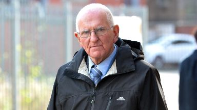 Neil Crilley stands trial at the High Court in Glasgow charged with culpable homicide of wife Maureen Crilley