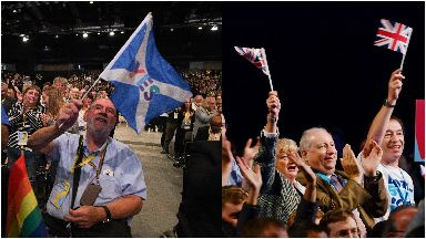 SNP and Tory party conferences 2019