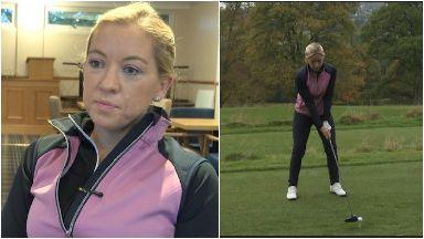 Professional golfer Heather Macrae after battling cancer October 18 2019