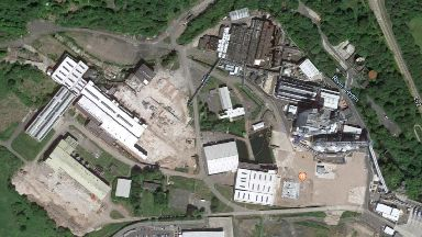 Tullis Russell site in Glenrothes