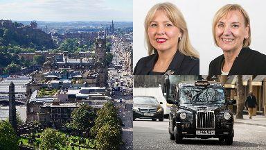 Edinburgh: Councillor Joan Griffiths, top right, will replace councillor Lezley Marion Cameron.
