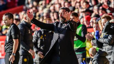 McInnes saw his side suffer a bruising home defeat.