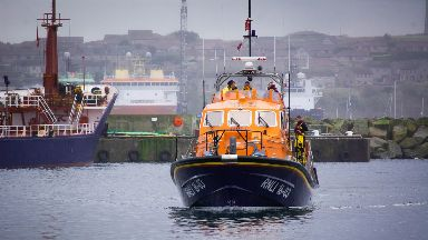 RNLI Peterhead's Lifeboat The Misses Robertson of Kintail