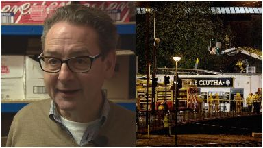 Saverio Petri, bar manager at Clutha in Glasgow on the night helicopter crashed through roof