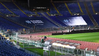 Stadio Olympico before Lazio v Celtic November 2019