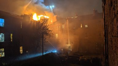 Strawberry & Spice Garden fire, Glasgow