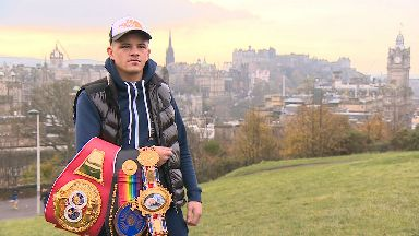 Lee McGregor, Edinburgh boxer, November 2019