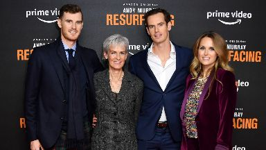 Andy Murray at premiere of Amazon Prime documentary Resurfacing