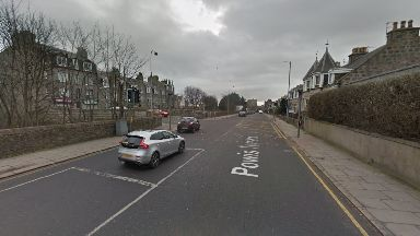 Hit-and-run: Powis Terrace.