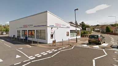 The collision happened near a Tesco Express.