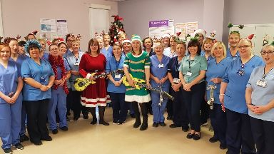 Midwives at NHS Lanarkshire