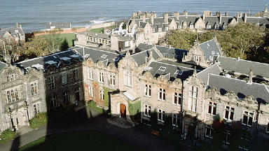 St Andrews University: Students took part in experiments (file pic).