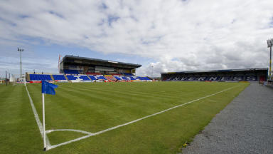 Caley Thistle: Housebuilder offers to give stadium to club (file pic).