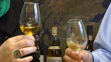 Water of Life: Praise for 'trailblazing' whisky sector.