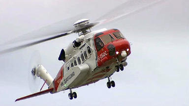 Rescue helicopter: Coastguard involved in search