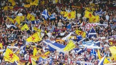 Tartan Army: Scotland fans are famous across the globe.
