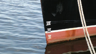 Tug: The boat is based in Orkney.
