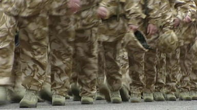 Soldiers: The new grant will benefit injured veterans.