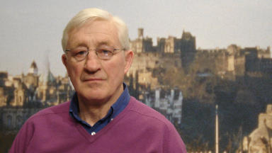 Straight talking: Former Scotland coach Jim Telfer says England's game plan is predictable.