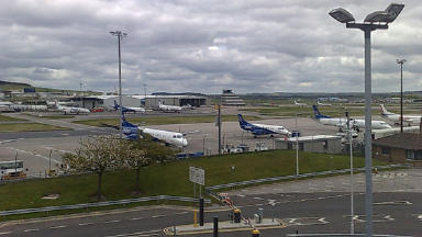 Gatwick: Man arrested along with 20-year-old woman. (file pic)