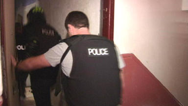 Police seize £80,000 of Class A drugs