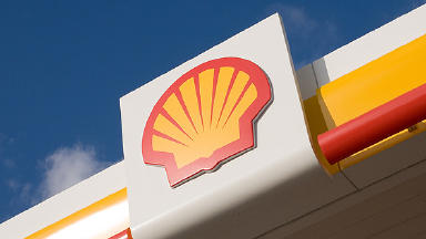 Shell: The oil giant is aiming to cut 10,300 jobs worldwide (file pic).