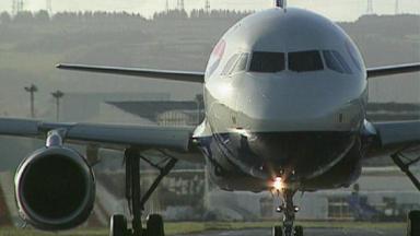 Diversion: A British Airways flight made an unscheduled landing in Boston.
