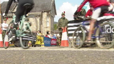 Cycle Racers: Riders on the Etape Caledonia route last year
