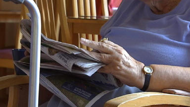 Isolation: Elderly Scots can be cut off from society.