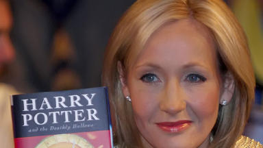 New book: The script of the Harry Potter stage play will be released as a book (file pic).