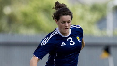 Jennifer Beattie was on target as Scotland recorded a win over their rivals England at the Cyprus Women's Cup.