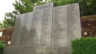 Memorial: A total of 270 people died in the 1988 bombing (file pic).