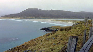 Isle of Harris: Scene of rescue search.